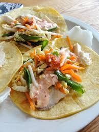 Asian Fish Tacos