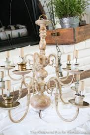 the weathered fox chandelier makeover 25 the weathered fox chandelier makeover 26