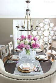 how high to hang a mirror above console table your chandelier