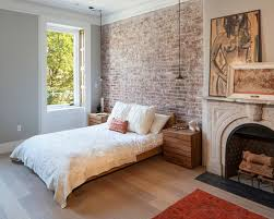 Small Picture Brick Wallpaper Bedroom Ideas Delightful White Brick Wallpaper
