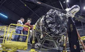 historic b 29 doc expects to be back in the air by spring the dave eslinger left and dan broyles an electrical schematic for one of the