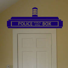 doctor who wall art awesome free creative doctor who tardis police box wall sticker of