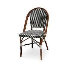 paris dining side chair finish black