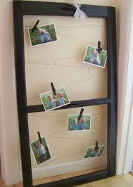 using old window frames to decorate she jami