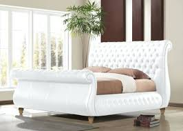 tufted upholstered sleigh bed. Perfect Sleigh Upholstered Tufted Sleigh Bed Bedroom  Brilliant In Queen To Nflincorg