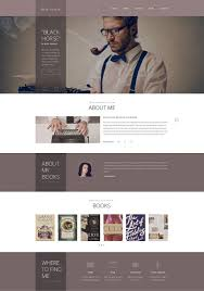 Book Author Website Design 12 Most Useful Author Website Themes Templates Free