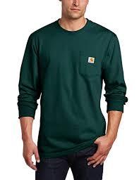 Carhartt Size Chart Mens Carhartt Mens Big Tall Workwear Pocket L S Tee