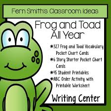 Story Starters Pocket Chart Cards For Frog And Toad All Year