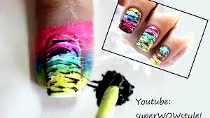 Colorful Nail Designs ✓ Spun Sugar Nail Designs Tutorial - Video ...