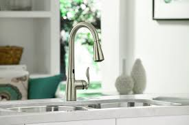 Moen Touchless Kitchen Faucet Moen 7594esrs Arbor High Goose Neck Kitchen Faucet With