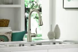 Moen One Touch Kitchen Faucet Moen Brantford Motionsense 7185e Touchless Kitchen Faucet Best