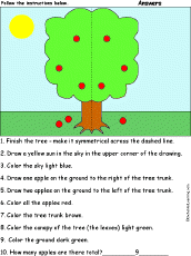 apples at enchantedlearning com follow the instructions