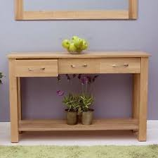 mobel solid oak console. Image Is Loading Mobel-solid-oak-furniture-console-hallway-hall-table- Mobel Solid Oak Console L
