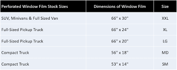 car sizes chart stock sizes for truck windows shop shipshape