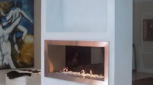 Interior Design Wood Stove Insert  Electric Fireplace Insert Double Sided Electric Fireplace