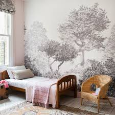 Feature wall wallpaper ...