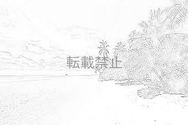 大人の塗り絵 風景 5枚 第7弾 自作