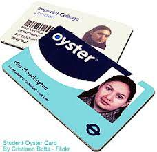 student oyster card