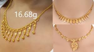 Necklace Design Picture Gold Necklace Designs 2018 Light Weight Gold Necklace