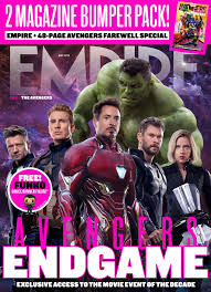 Avengers Endgame The Original Six And Thanos Take Center Stage On