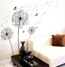 how to make large wall decals and new dandelion erflies large wall decal home decor living