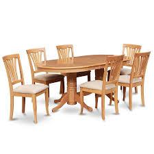 Kitchen Furniture Vancouver Shop East West Furniture Vancouver Oak Dining Set With Oval Dining