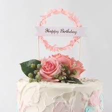 Happy Birthday Cake Toppers Bake N Cake Tools
