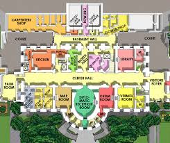 white house residence ground floor