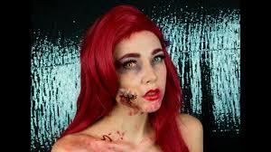zombie ariel make up tutorial