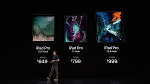 new ipad pro 2018 price