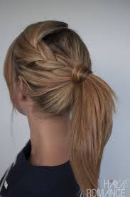 Cute Ponytail Hairstyles 84 Inspiration Easy Braided Ponytail Hairstyle Howto Hair Romance