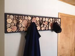 Log Coat Racks Hand Crafted LogBranch Coat Racks by Live Edge Woodcrafts 3