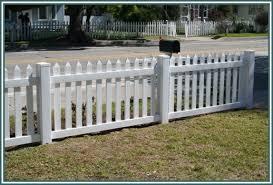 Vinyl Picket Fence Panels Vinyl White Picket Fence Panels R Nongzico