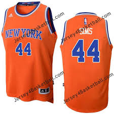 Courtney Sims Knicks #44 Twill Jerseys free shipping