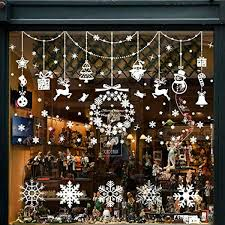 Details Zu Wokkol Fensterbilder Weihnachten Selbstklebend Schneeflocken Fensterdeko Fenst