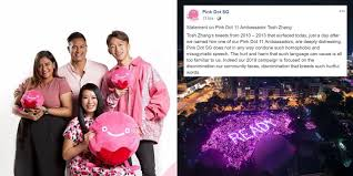 actor tosh zhang made phobic ments in 2016 apologises 8 years later as pink dot ambador