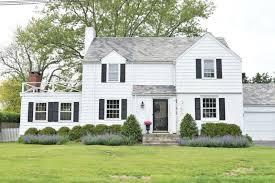 New England Homes Exterior Paint Color Ideas Nesting With Grace - Farmhouse exterior paint colors