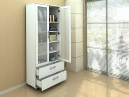 white bookshelf with glass doors white bookcase with doors and drawers white bookcase with glass doors