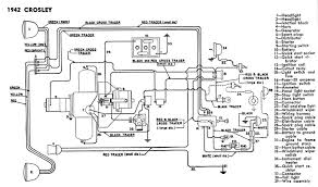 details on crosley prewar models 1939 1942 wiring diagram from 1942 but should be close for other years