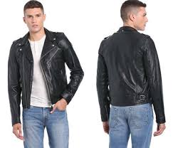 schott nyc lc1140 biker jacket lc1140 leather motorcycle jackets for men