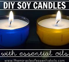 making your own diy essential oil soy candles is a fun activity plus you can get