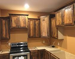 Barnwood Kitchen Cabinets, Rustic Cabin Cabinet, Custom Made To Order,  Build Your Dream