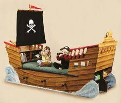 easy steps to create cool pirate ship bed with pictures aida homes disney pirate ship bed