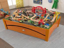 kidkraft metropolis train table and set kidkraft