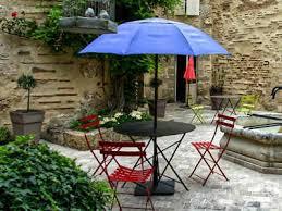 patio umbrellas create a relaxing
