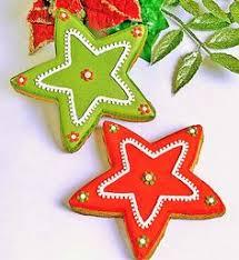 christmas star cookies. Beautiful Cookies Christmas Stars Using Standard Star Cookie Cutter Intended Star Cookies T