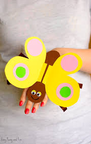 Butterfly Paper Hand Puppet Easy Peasy And Fun