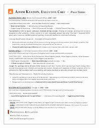 Sample Resume For Sous Chef New Executive Chef Resume Chef Resume Magnificent Sample Resume For Sous Chef