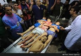 جنایت در غزه