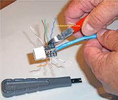rj45 outlet wiring diagram Ethernet Wall Jack Wiring Diagram how to install an ethernet jack for a home network wiring diagram for cat 5 ethernet wall jack